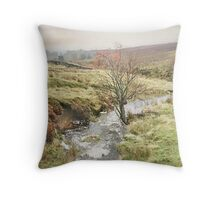 Autumn on Hamer Moor ~ North Yorkshire Throw Pillow