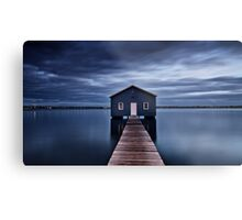 'The Boatshed' Metal Print