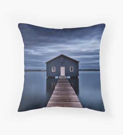 'The Boatshed' Throw Pillow