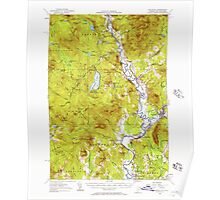 USGS Topo Map  Vermont VT Guildhall 337958 1956 62500 Poster