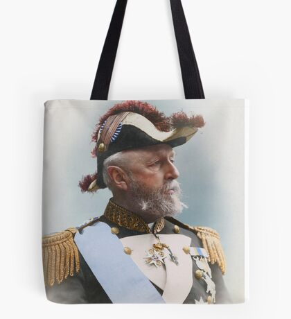 Oscar II, king of Sweden and Norway — ca 1880 Tote Bag
