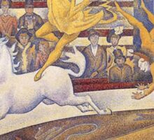 Georges Seurat - The Circus Sticker