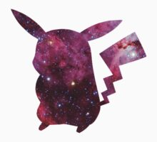 Pikachu - Galaxy by Margaret Newlands