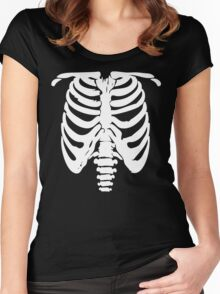 Rib Cage Women's Fitted Scoop T-Shirt