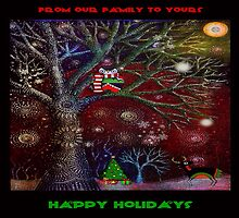 Woodland Holiday Cards2 by Conoy Creations