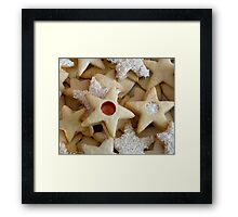 Christmas Cookies Framed Print