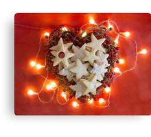 Christmas Cookies 2 Canvas Print