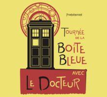 La Boîte Bleue (no background) by sirwatson