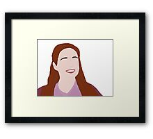 I'm sorry, what was the question? Framed Print