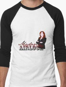 airlock lady Men's Baseball ¾ T-Shirt