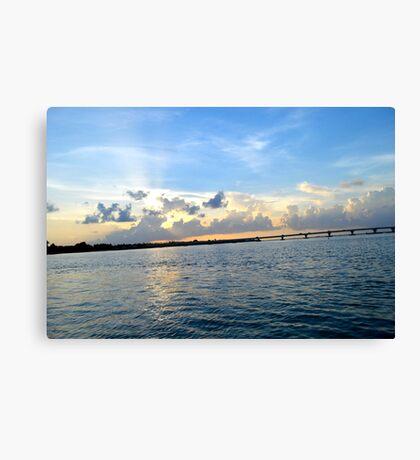 HDR Sky Landscape Canvas Print