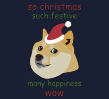 So Christmas - Doge One Piece - Short Sleeve