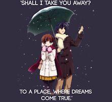 Shall I take you away? - Nagisa (Clannad) Unisex T-Shirt