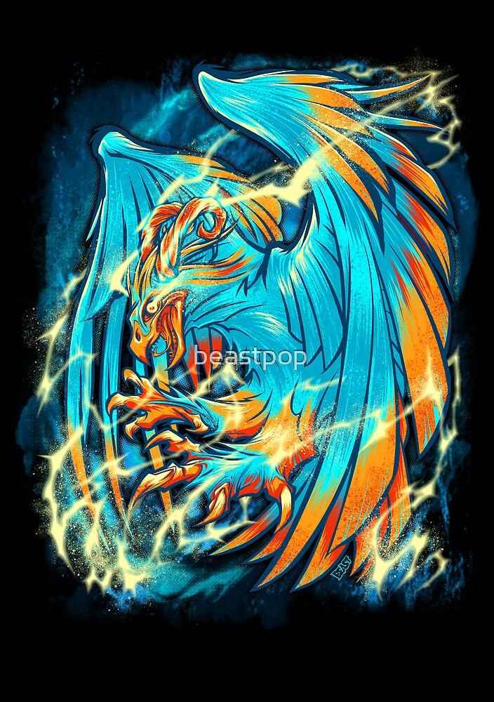 BIRD OF THUNDER by beastpop