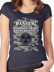 Weapons Grade Wonderflonium Women's Fitted Scoop T-Shirt