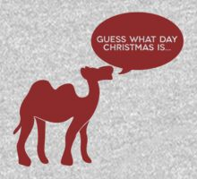 Guess What Day Christmas Is? Hump Day T-Shirt by typeo
