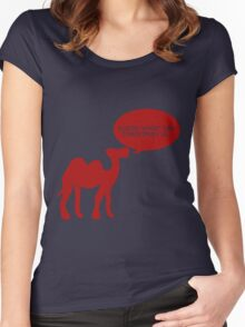 Guess What Day Christmas Is? Hump Day T-Shirt Women's Fitted Scoop T-Shirt