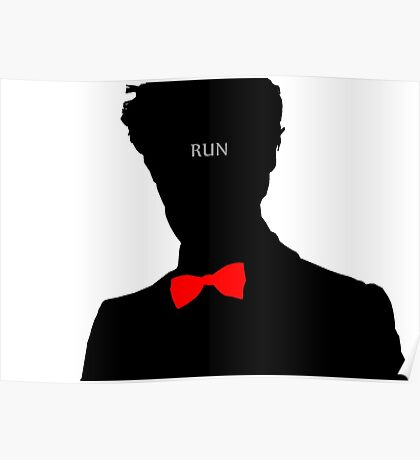 Eleventh Doctor 'Run' Poster