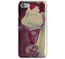 Strawberry Sundae.  iPhone Case/Skin