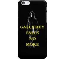 Gallifrey Falls No More iPhone Case/Skin