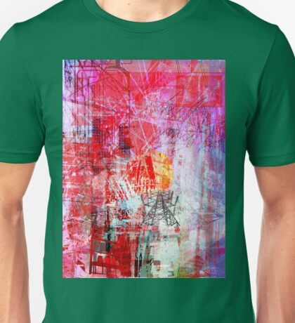 the city 6 Unisex T-Shirt