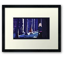 Bad Wolf Framed Print