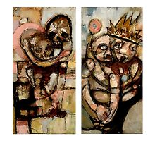 Time Diptych Photographic Print