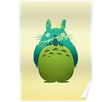 Totoro's Day Out Poster