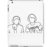 Dan and Phil on BBC Radio 1 iPad Case/Skin