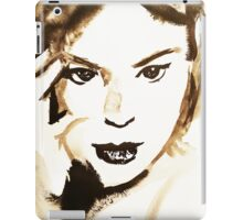Ink Portrait iPad Case/Skin