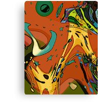 At the Party! Canvas Print