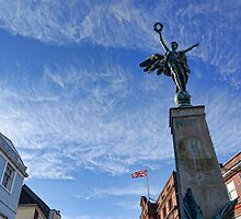 Lewes war memorial by Beverley Goodwin