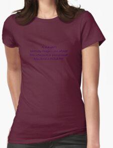 Baldur's Gate Womens Fitted T-Shirt