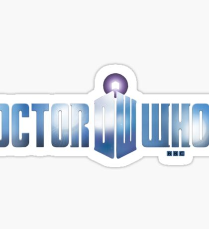 Dr. Whom Sticker