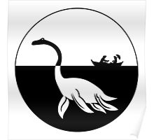 Nessy (Loch Ness Monster) Logo Poster