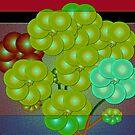 Holiday Grapes by IrisGelbart
