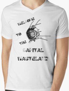 Capital Wasteland Mens V-Neck T-Shirt