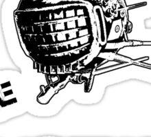 Capital Wasteland Sticker