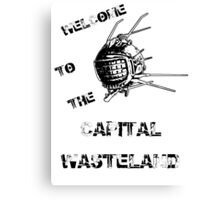 Capital Wasteland Canvas Print