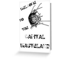 Capital Wasteland Greeting Card