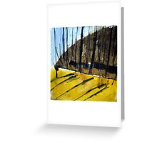 Mont Royal, Montreal, Autumn #2, watercolour Greeting Card