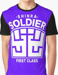Final Fantasy VII - SOLDIER First Class Logo Graphic T-Shirt