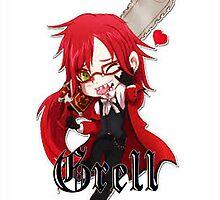 Grell Chibi by Falling