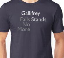 Gallifrey Falls No More/Stands Unisex T-Shirt