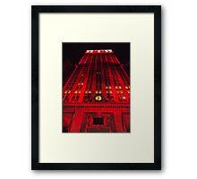 Holiday Lights, Helmsley Building, New York City  Framed Print
