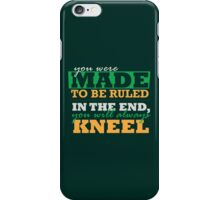 Made to be Ruled iPhone Case/Skin