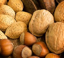 Nuts on Burlap by Mark McKinney