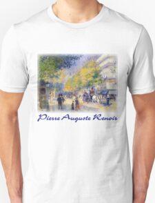 Pierre-Auguste Renoir  - Boulevards of Paris T-Shirt