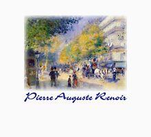 Pierre-Auguste Renoir  - Boulevards of Paris Unisex T-Shirt