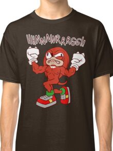 FIGHTING FREAK KNUCKLES Classic T-Shirt